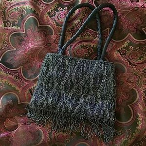 Roaring 20s beaded purse